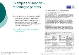 Report comments for early years by khoney   Teaching Resources   Tes  NSW Public Holidays      to