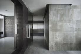 concrete office interior home of and finishes images awesome dark scheme for diy brick wall design idea excerpt