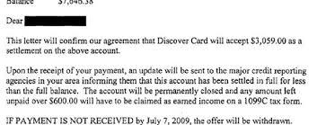 discover_debt_settlement_letter sample settlement letter