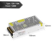 lighting transformers led driver ac85 265v dc12v 5a 60w power adapter for strip light switch supply