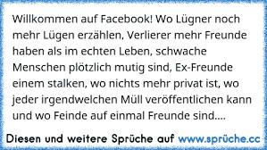 Willkommen Auf Facebook Wo Lügner Noch Mehr Lügen Erzählen