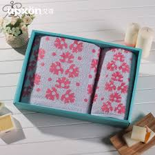 get ations eltham azaleas cotton wood fiber towels super soft absorbent towel gift set upscale corporate gifts in