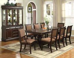 black dining room table and 8 chairs 9 piece dining table set 9 piece formal dining