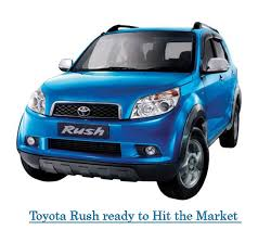 new car launches by toyotaToyota Rush ready to hit the market in December