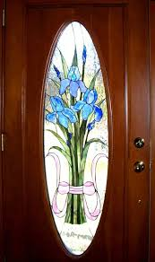 painted glass on the doors glass painting at home colorful glass embellishment than the interiors