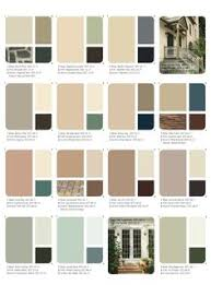 house exterior paint colorsSet of beautiful natural colors Anges Dollhouse Choosing the