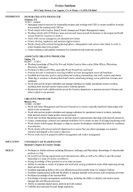 Is It Better To Have A Traditional Resume Or A Modern Resume For Noncreative Jobs Creative Producer Resume Samples Velvet Jobs
