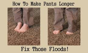 Make Pants How To Make Your Pants Longer This Adds Fabric To The