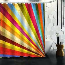 colorful shower curtains blue star curtain hooks