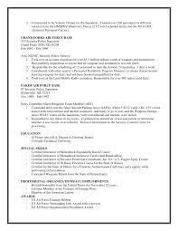 Executive Protection Resume Executive Protection Resume Executive
