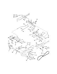 Craftsman tractor ground drive parts