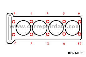 renault megane 1 6 16v 1999 2003 k4m 700 car repair manual renault engine cylinder head tightening sequence