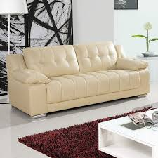 newham ivory cream leather sofa collection with all in one style bench seating
