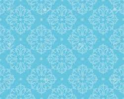Elegant Blue Damask Pattern Background ...