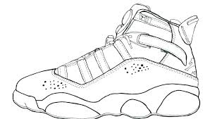 Michael Jordan Coloring Pages Collection Website Air Free Nike