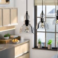 Pendant lighting fixtures kitchen Lighting Ideas Quickview Wayfair Pendant Lighting Youll Love Wayfair