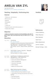 film resume samples film resume examples examples of resumes