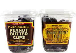 dark or milk chocolate peanut er cups