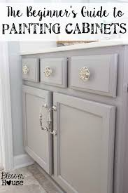 bathroom cabinet redo. The Beginner\u0027s Guide To Painting Cabinets | Bless\u0027er House - All Of Steps Bathroom Cabinet Redo