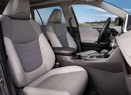 toyota usa 2019 toyota rav4 front seats