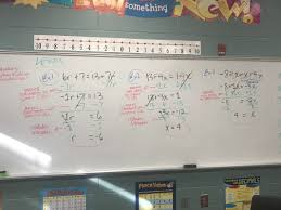 0404 warm up lesson cw hw equations w variables on both sides mr lopez s math class