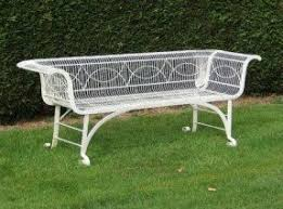 wrought iron garden furniture antique. an antique wroughtiron garden bench wrought iron furniture