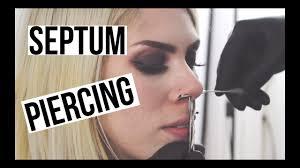 Septum Piercing Gloria Fair Youtube
