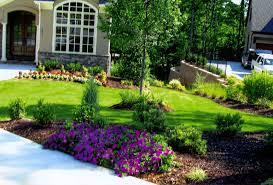 Front Lawn Garden Ideas  Elegant Garden Ideas Front Yard Flower Garden  Ideas Picking the Most