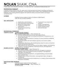 Nursing Assistant Resume Samples Hospinoiseworksco Nursing Assistant