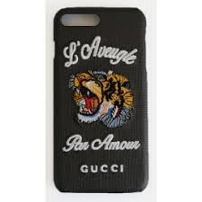 gucci iphone 7 case. gucci case for iphone 7 plus printed iphone