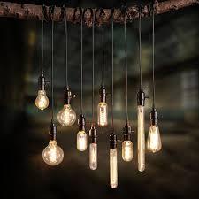 best 25 hanging light bulbs ideas on lightbulbs hanging bulb chandelier