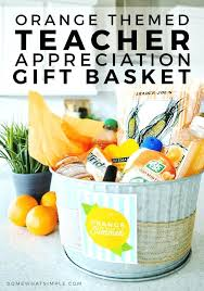 teacher gift basket ideas binge with