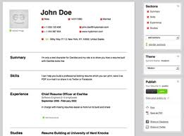 Create A Free Resume Enchanting Create Free Resume Cv Online With Neat Design Create A Resume Online