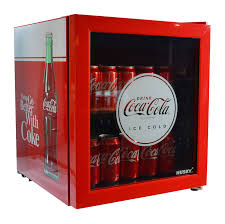 coca cola glass door countertop bar