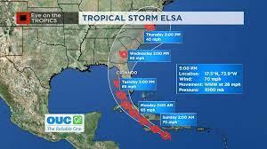 VIDEO: Tropical Storm Elsa - Latest ...