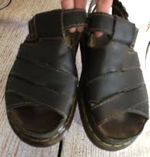 vintage dr doc martens leather fisherman sandals mens sz 7 made in england 8330 6 6 of 8