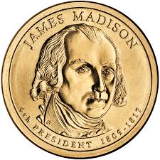 james madison   wikipedia  the free encyclopediapresidential dollar of james madison   quot