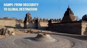 Hampi: Once obscure pilgrimage site, how Hampi turned into global  destination - Times of India