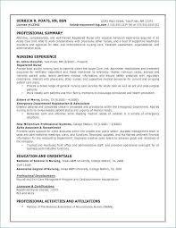 Experienced Nursing Resume Examples Best Of Nurse Resume Examples