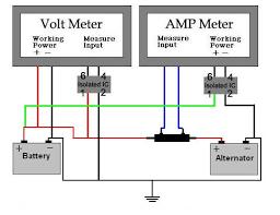 amp gauge wiring diagram amp image wiring diagram auto amp meter wiring diagram auto auto wiring diagram schematic on amp gauge wiring diagram