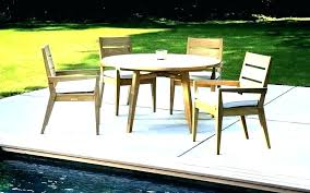 fresh teak patio dining sets for teak patio dining set awesome commercial outdoor furniture ideas amazing