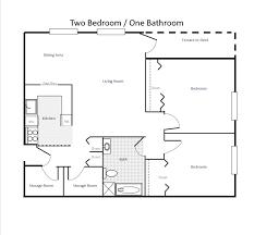 Bathroom Floor Plan 2 Bedroom 2 Bath House Plans 2 Bedroom 2 Bath House Plans