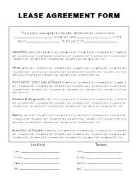 Apartment Rental Agreement Template Word Custom It Lease Agreement Template Doc Rental Form Word Free Download