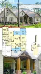 home floor plans color. architectural designs craftsman house plan 51746hz has a rustic exterior of stone and wood, home floor plans color t