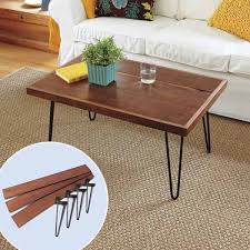Prefer wheels or simply reclaim the metal from home and build metal hairpin legs for your handmade wooden coffee tables. Gorgeous Diy Coffee Tables 12 Inspiring Projects To Upgrade