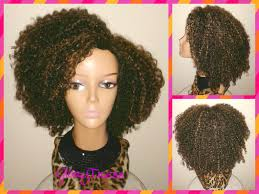 Natural Hair Style Wigs on sale kinky curly wig short curly half wig big natural 7789 by stevesalt.us