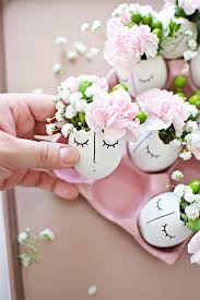diy whimsy ilrated eggshell centerpiece transform the eggs into sweet spring table decor with just