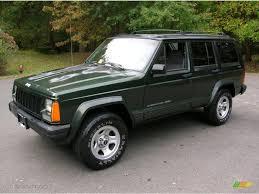 1996 Moss Green Pearl Jeep Cherokee Classic 4x4 38342574
