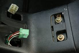 diy honda civic 92 95 edm heated seats diy retrofit install guide heated seat wiring at centre console 1a is gap where you can feed the terminal ring through 1b is bolt that now doubles as a ground bolt