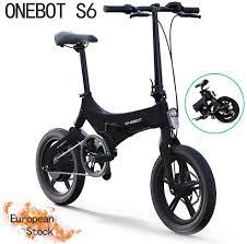 <b>Onebot S6 Electric</b> Folding Bike   Bike & Go